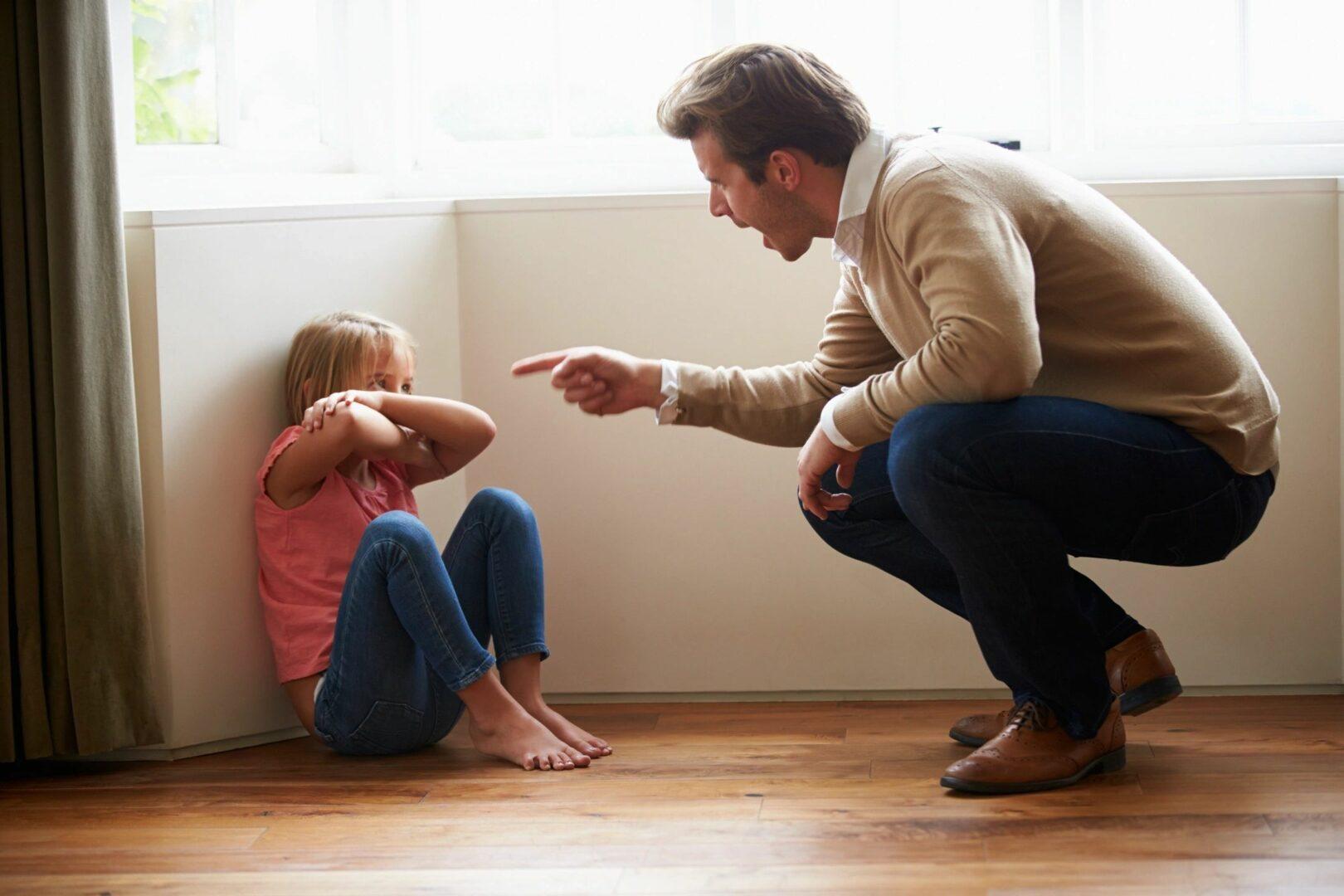 parent scolding